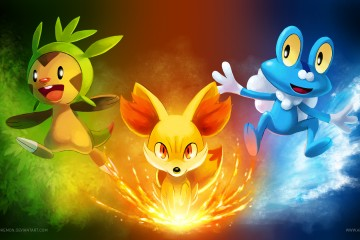 Pokemon X and Y Review Guide Tips 3DS Starting Pokemon