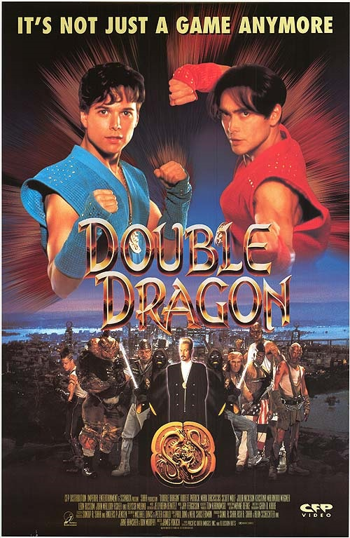 A History Of Videogame Movies Double Dragon 1994