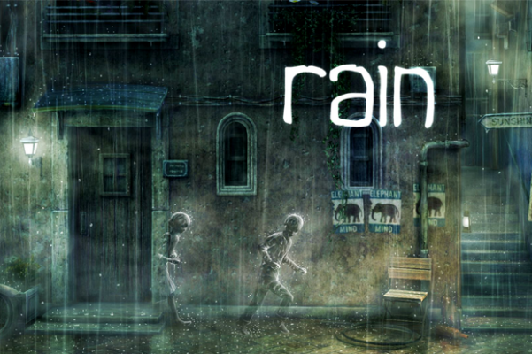 Rain Screenshot Playstation 3 PSN Vita Game Review