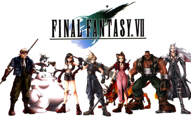 Final Fantasy franchise Image wallpaper 7 VII