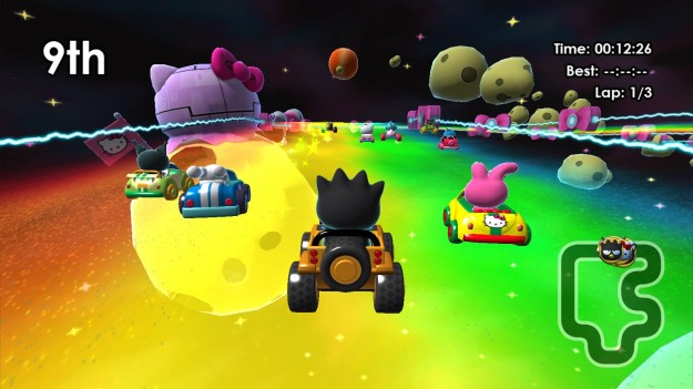 Hello Kitty Kruisers Kart Racer Wii U iOS Android Screen