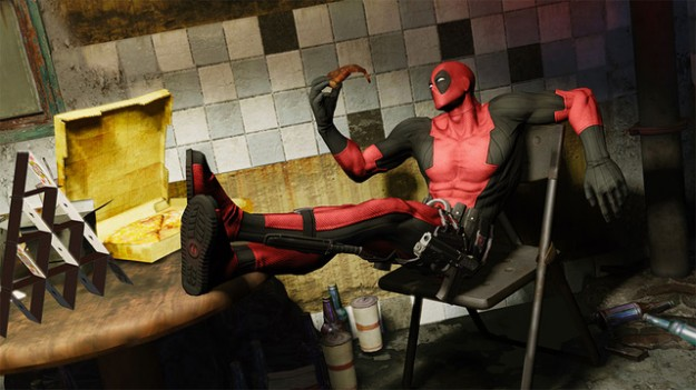 Deadpool Game Screen