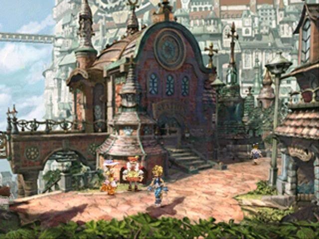 Hungry eyes games that give you a visual feast for Final fantasy 8 architecture