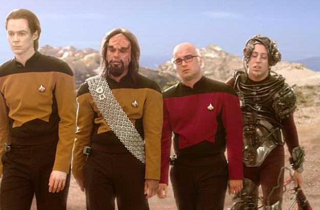 Star Trek Big Bang Theory