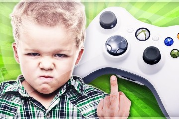 Angry Video Gamer Kid