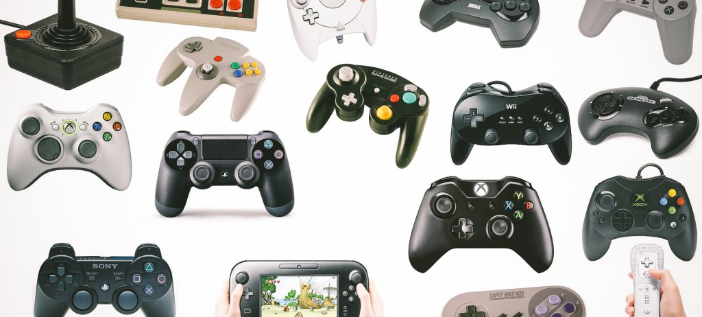 Video Game Controller History Nintendo Microsoft Sony Sega