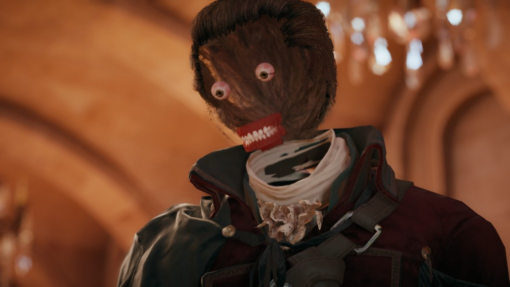 Assassin's Creed Unity Faceless Glitch Horror Nightmare