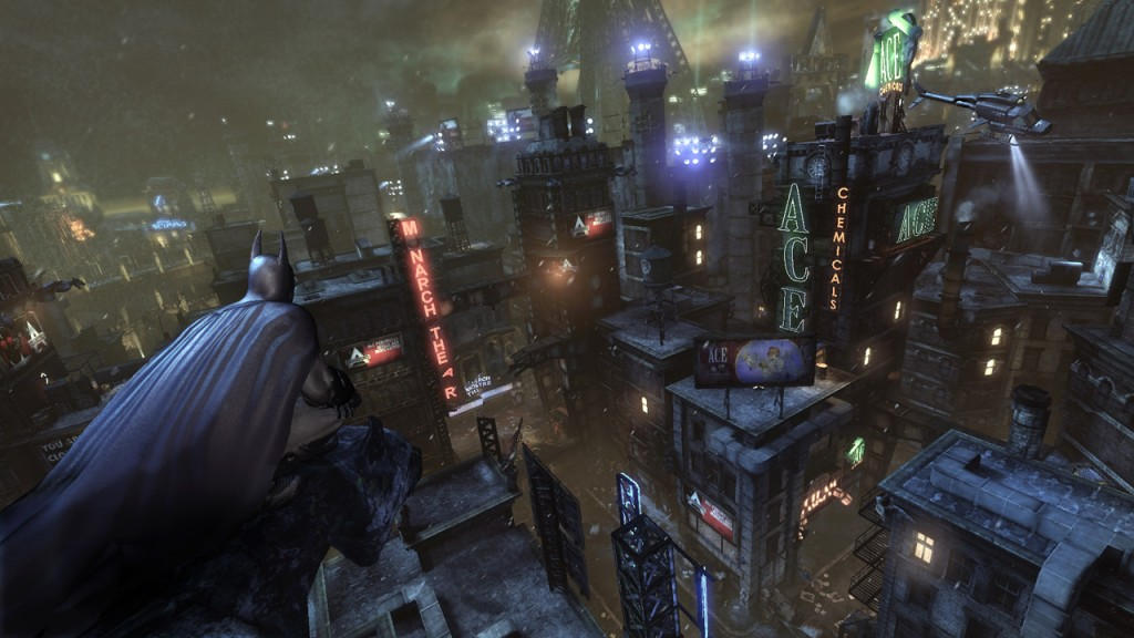 Batman Arkham City View Wallpaper