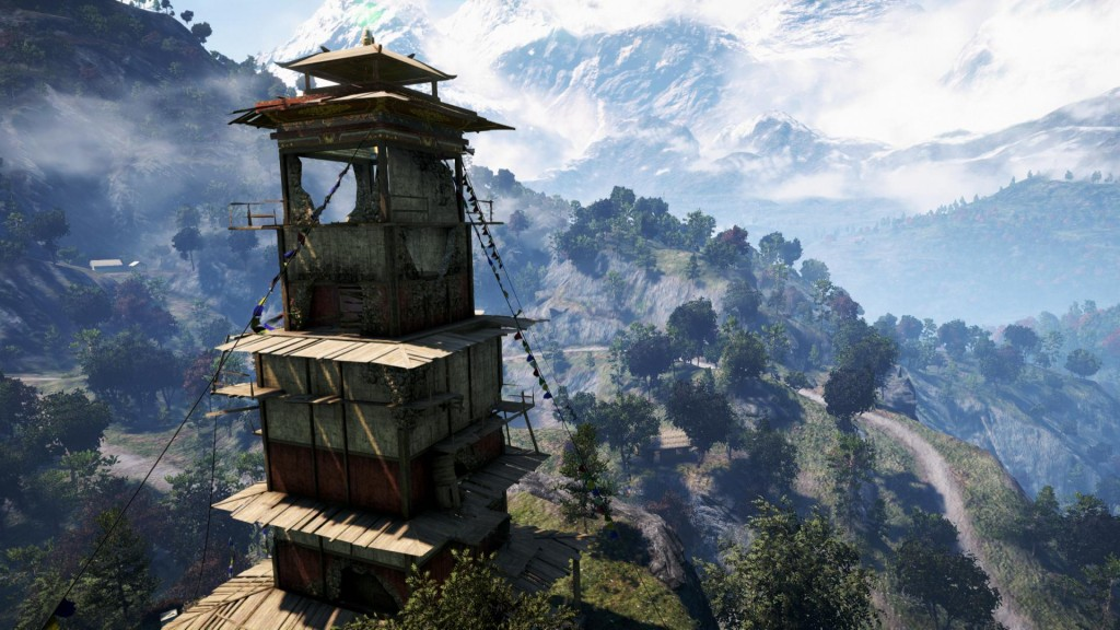 Far Cry IV 4 Bell Tower View Vista