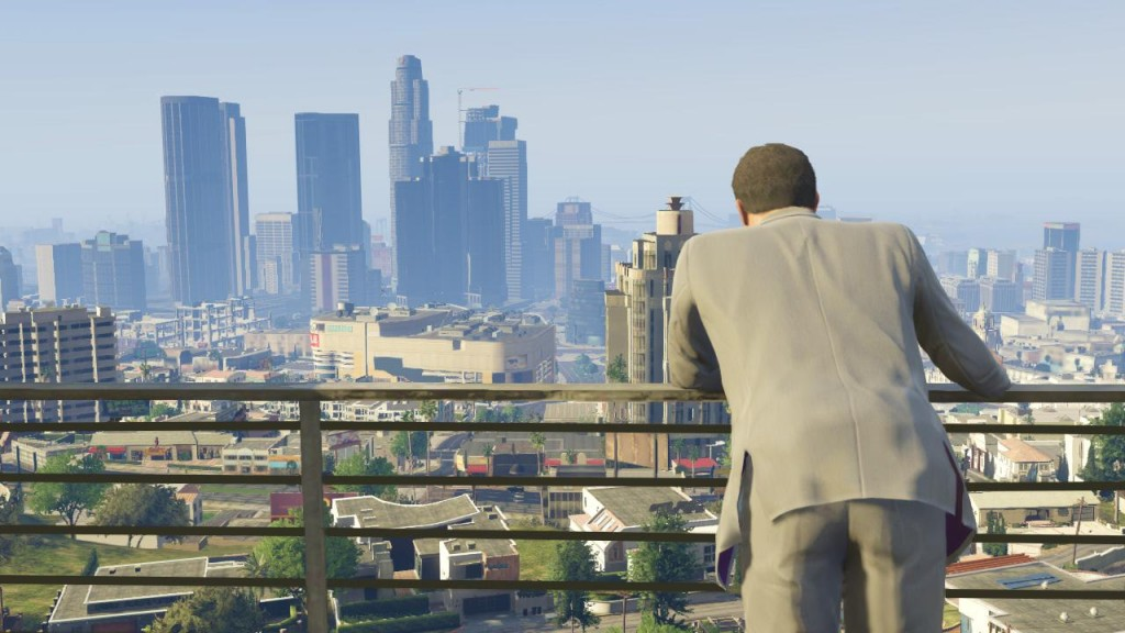 GTA V Open World Los Santos